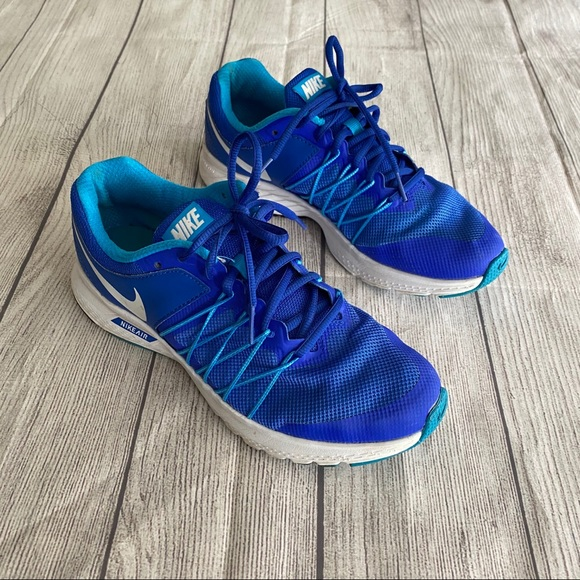 Nike Shoes - Nike blue running sneakers